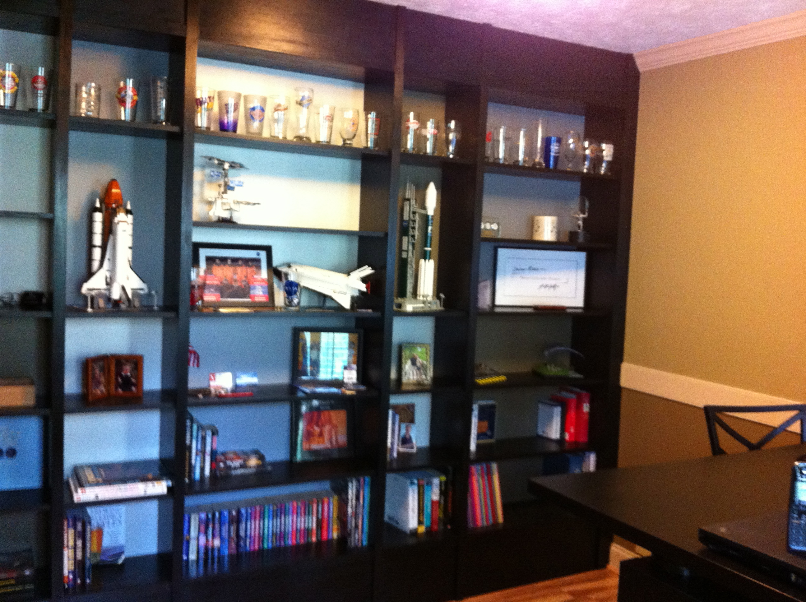 Built In Ikea Billy Bookcases A Geek Dad